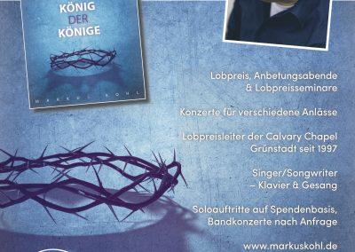 Anzeige 2017 Markus Kohl
